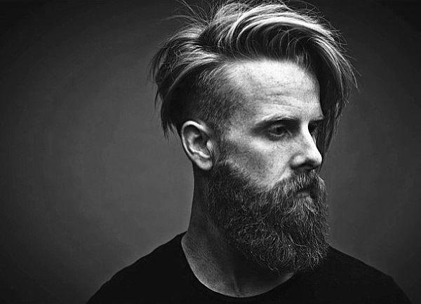 Old School Mens Beard And Undercut Hair MÄNNER FRISUREN 2017