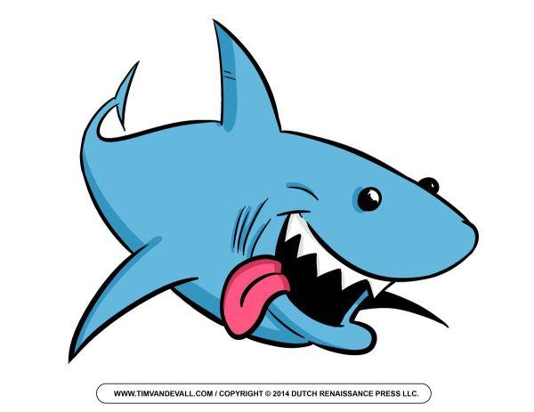 Cartoon Shark Clip Art