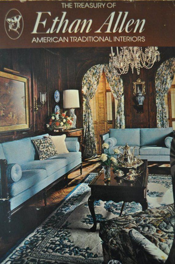 Vintage Catalog 70s Ethan Allen Furniture 1974 Vintage