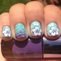 Here Comes the Bride With Some Awesome Nails! | Hawaiian ...