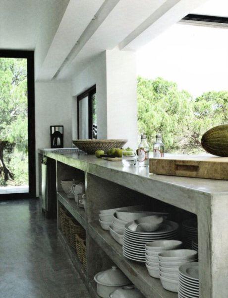 concrete kitchen island Polished Concrete Kitchen on Pinterest | Polished Concrete Countertops, Polished Concrete