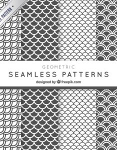 White and grey archs patterns pack free vector also ai  ps pattern etc rh pinterest