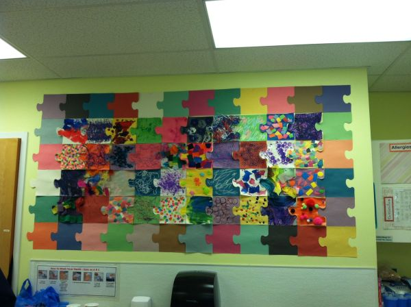 Puzzle Pieces Classroom Project