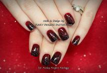 Black-ombre-glitter-nails-black-and-gold-glitter-ombre