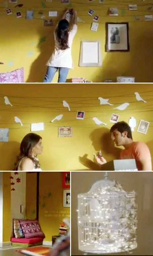 "Was Searching For This Pic Of The Bird Wall From The ""Wake Up Sid"