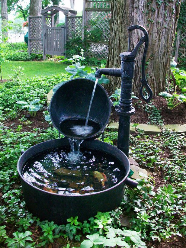 10 Refreshing Container Water Features Gardens Refreshing And