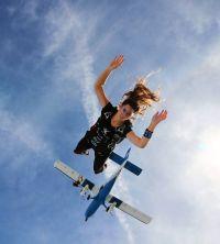 Adrena_lady: Stephanie Garza Insta: xxxxx Jumps: 58 Canopy ...