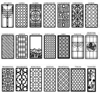 Decorative Cabinet, Window & Door Insert Grilles