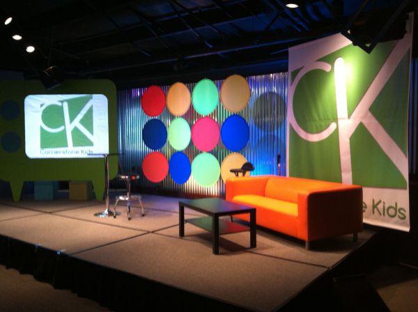 Kids Church Stage Design Ideas