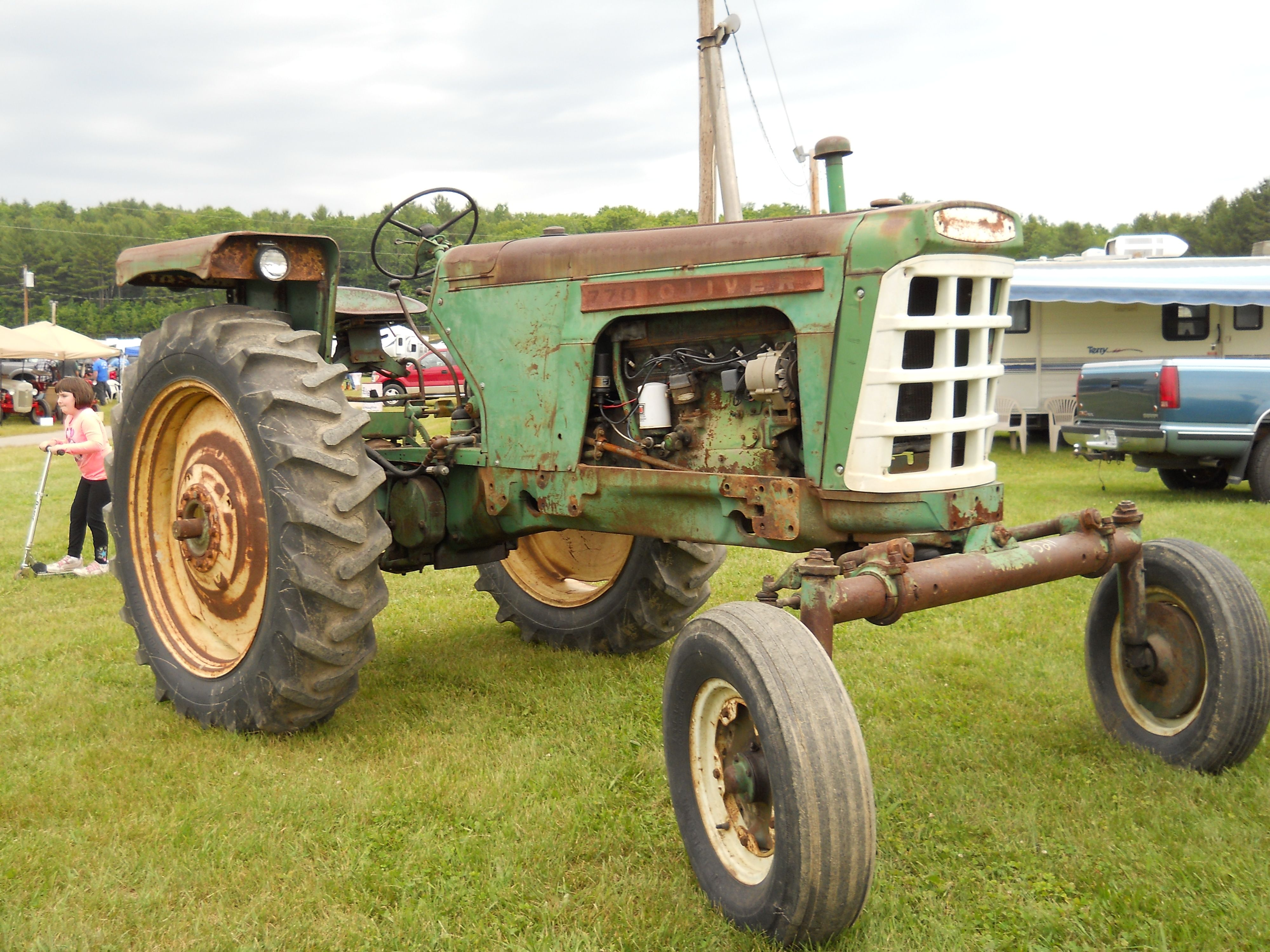 1967 Oliver 1650 Tractor Parts