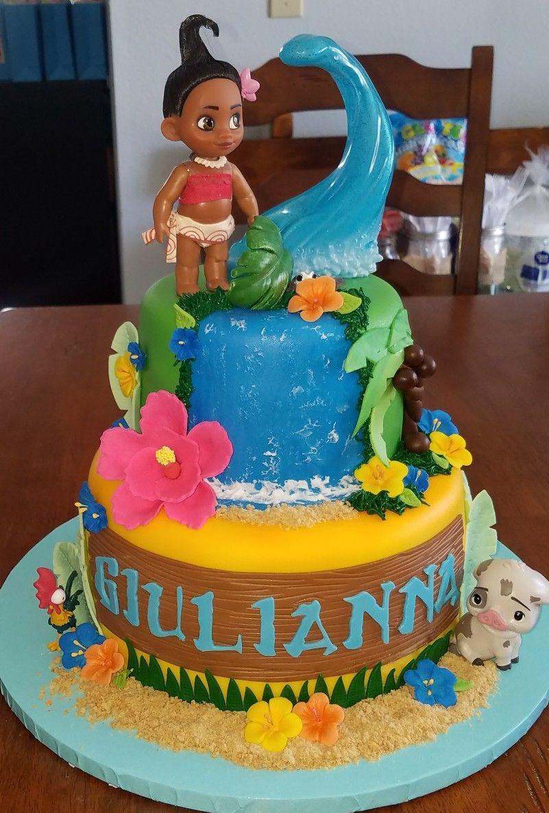 Walmart Moana Birthday Cake