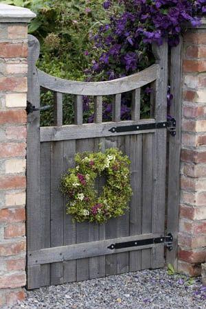 Rustic Garden Gate Gardening Designing Garden Dreams