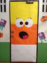 Candy Corn Door | Halloween | Pinterest | Candy corn ...