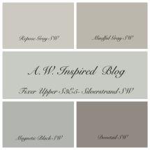 Joanna Fixer Upper Paint Colors