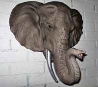 Elephant Head / Elephant Wall Decor/ Elephant Head ...