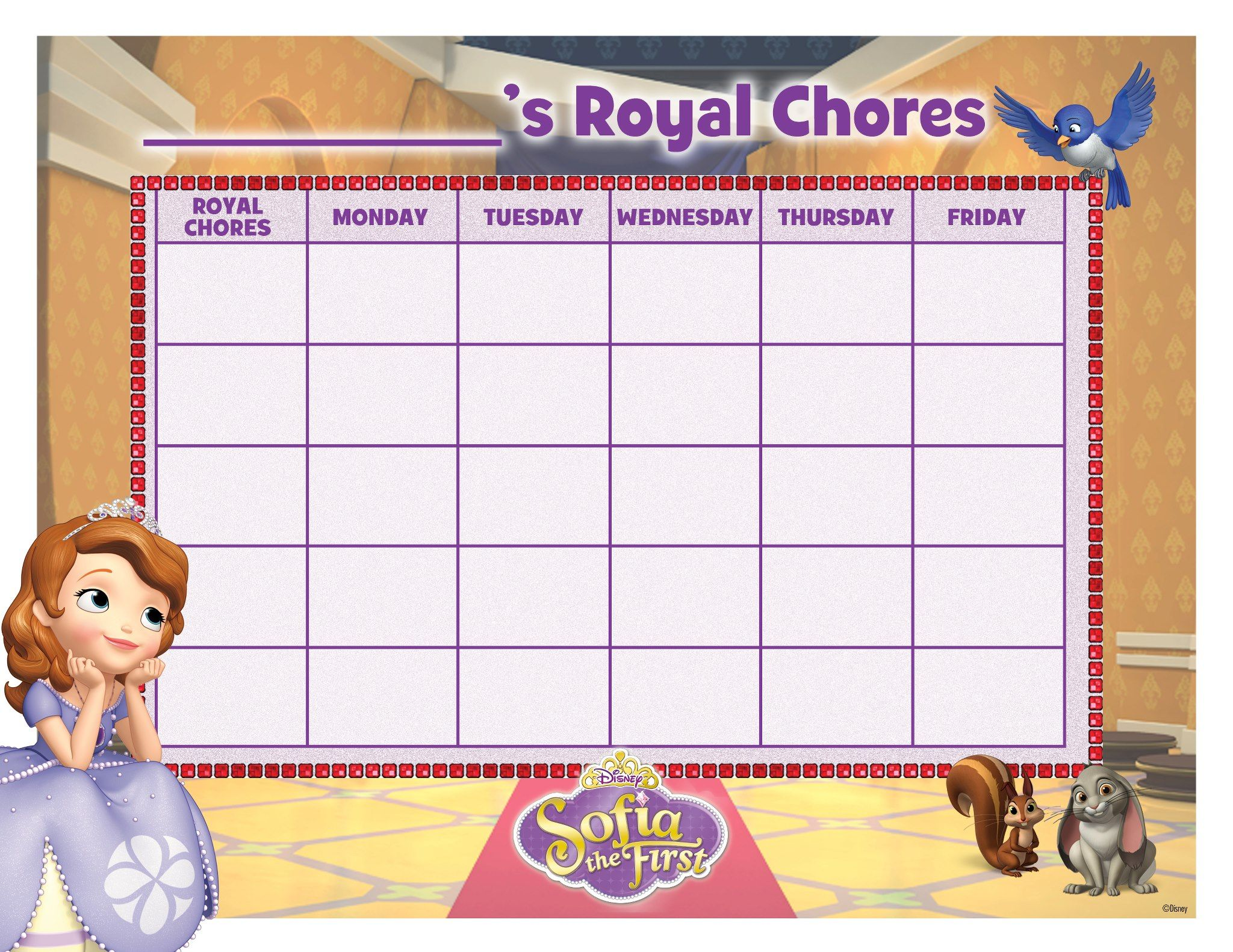 30 Sofia The First Party Ideas Free Printables Amp Must