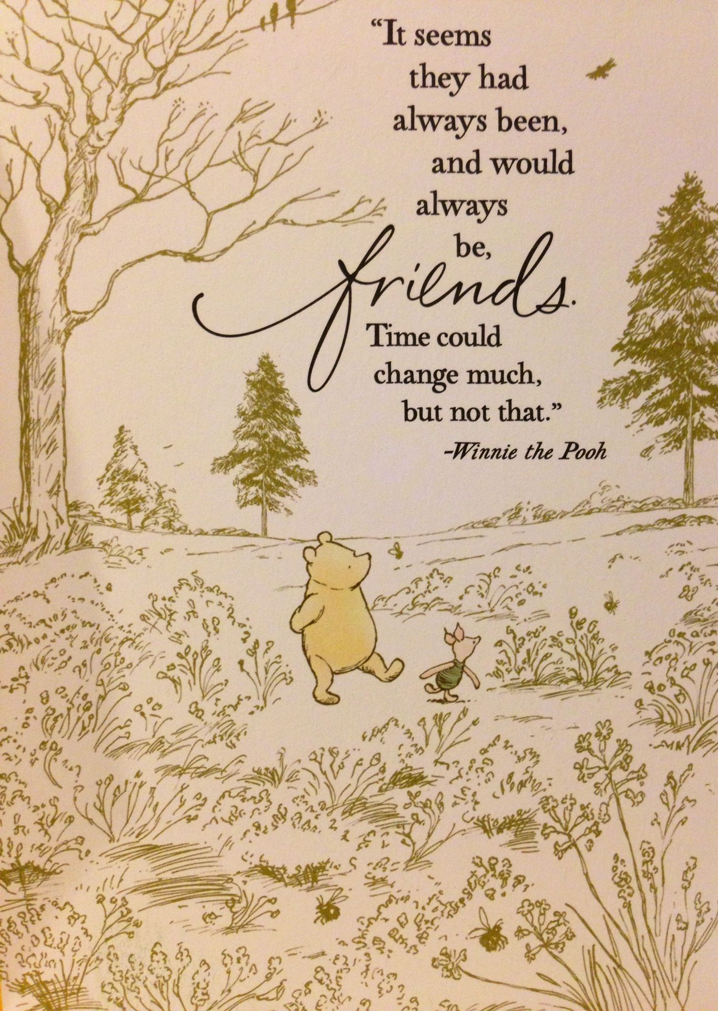 Quotes About Friendship Winnie The Pooh Classic Pooh And Piglet Quotes Friendship Picture