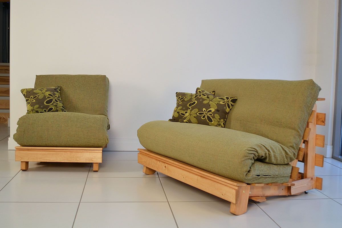 wooden futon chairs swivel barrel for sale single home decor