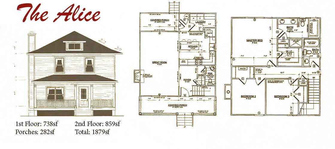 American Foursquare – Colonial Revival – 1916 Sears Kit Homes