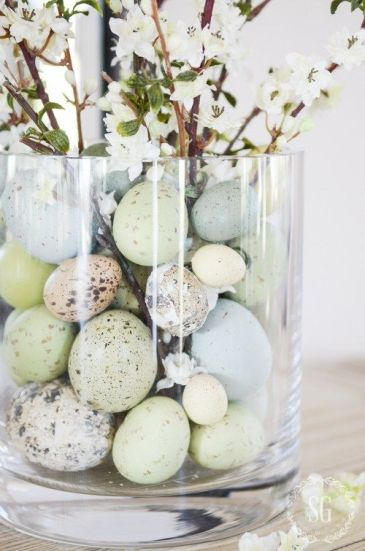 Image result for neutral easter decor