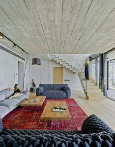 Concretus house is  brutalist style home in cala sardinera spain also rh pinterest