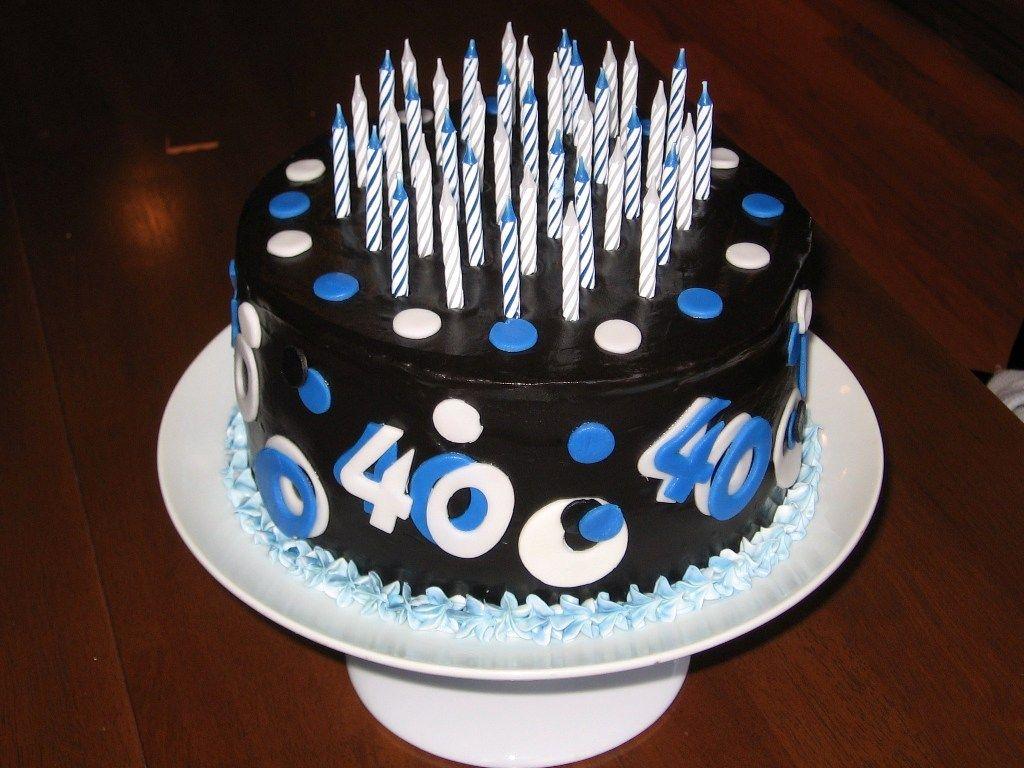 40th Birthday Cake Ideas For Men S