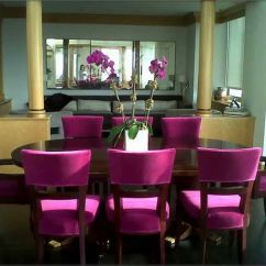Pink Dining Room Chairs Zero Gravity Beach Chair Inspiration Elegant Small Home