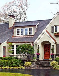 Exterior color schemes also house tour fresh traditional style beautiful colors and rh za pinterest