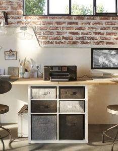 adore cette photo de decofr et vous source http also idees pour realiser un bureau avec des treteaux rh in pinterest