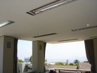Flush Mounted Heaters in Patio Ceiling | Infratech Outdoor ...