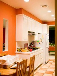 Orange Paint Colors For Kitchens: Pictures & Ideas From ...