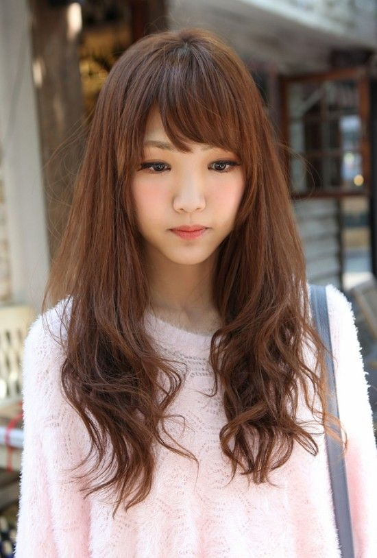 Long Hairstyles Korean Girls Hairstyles Short Hairstyles Sweet