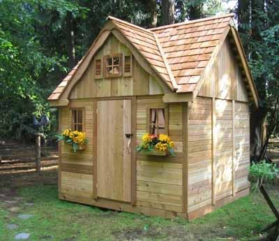 Simple Shed Plans In Building Your Own Outdoor Sheds Cool Shed