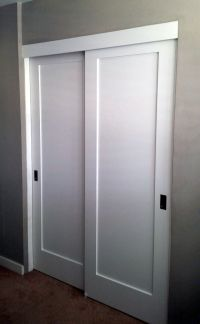 Panel, Louver, and Flush Doors | Closet door office ...