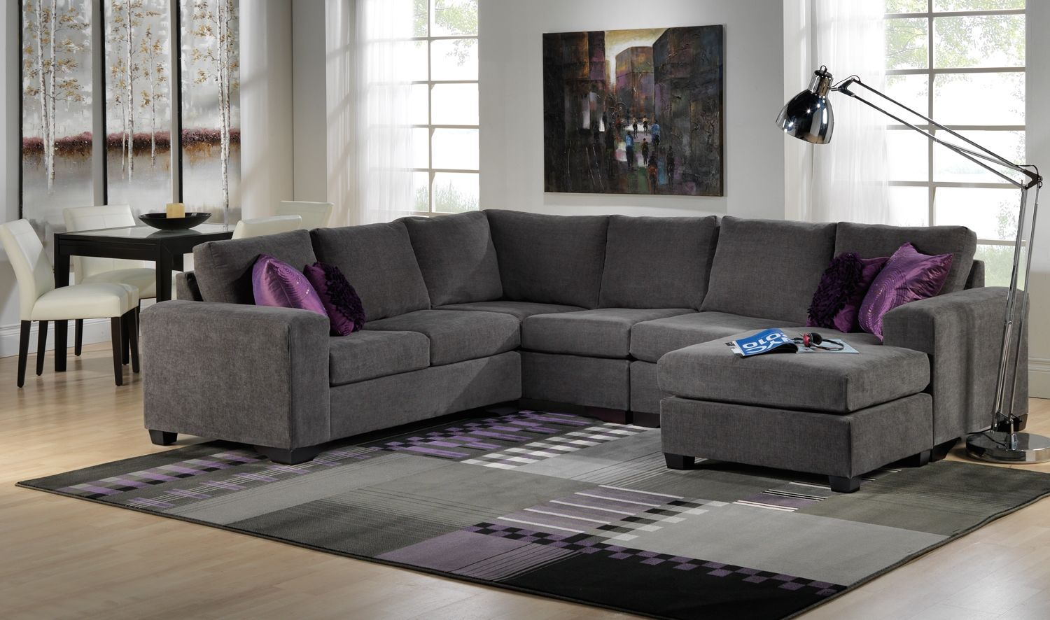 leon s sofas sofa cover blankets danielle upholstery collection 39s gt 3 pc sectional