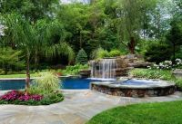 Pools - Classy Pool Landscaping Ideas With Pretty Pool ...