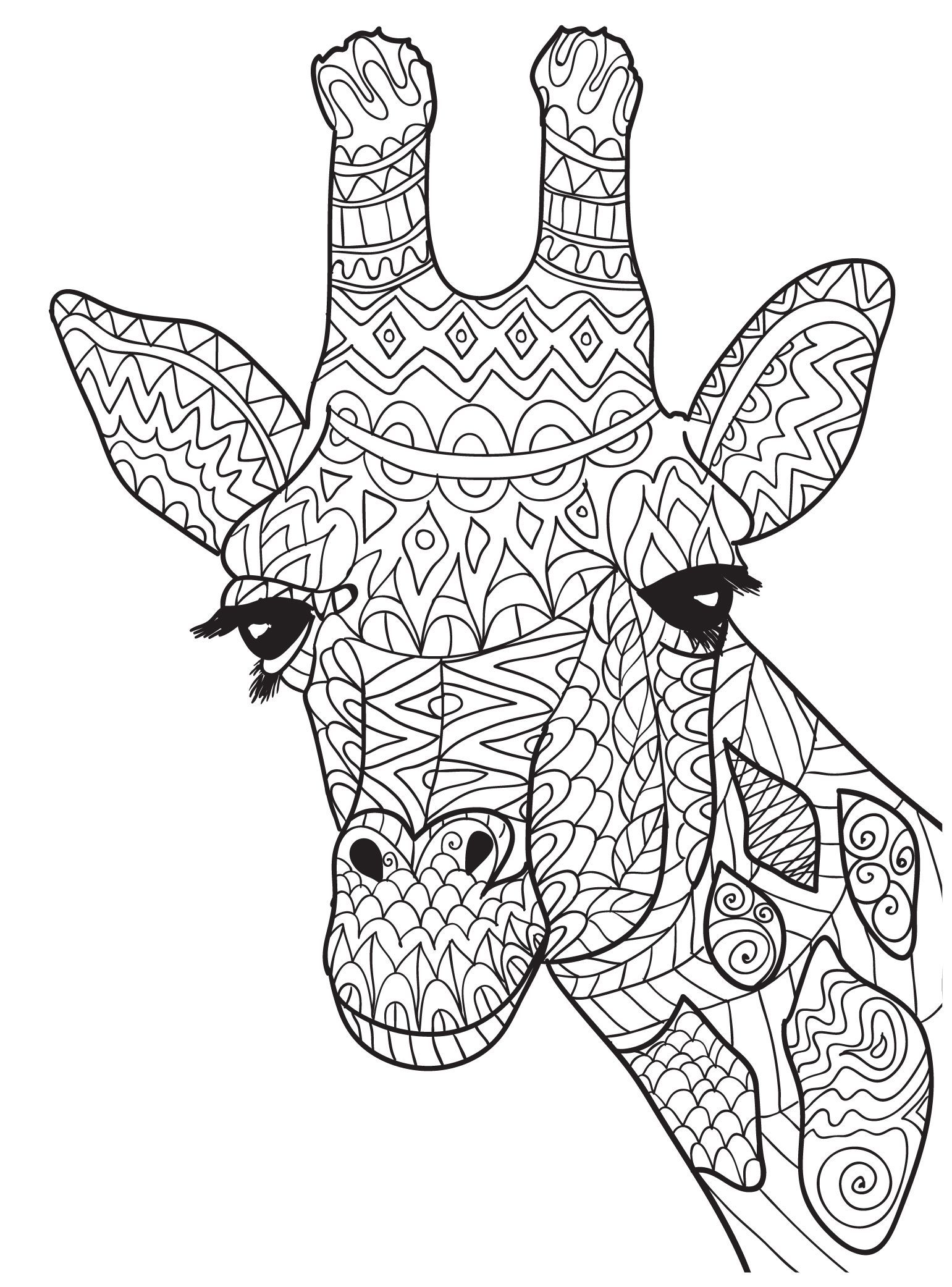 Ten Adult Coloring Pictures For People Who Love April The ... | mandala coloring pages for adults animals