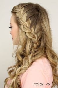 2015 Prom Hairstyles - Half Up Half Down Prom Hairstyles ...
