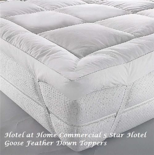 Luxury Goose Feather Down Topper As Used In Some Sofitel Hotels Hotel Quality Mattress Our And Toppers Are A Combination Of