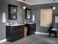 pictures of bathrooms with black cabinets | ... Bathroom ...