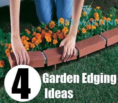 DIY Life Martini Lifemartini Com Garden Edging Ideas
