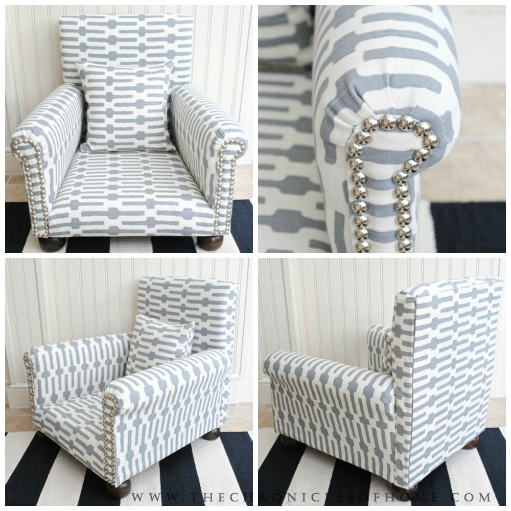 DIY Childs Upholstered Chair  Children s Upholstery