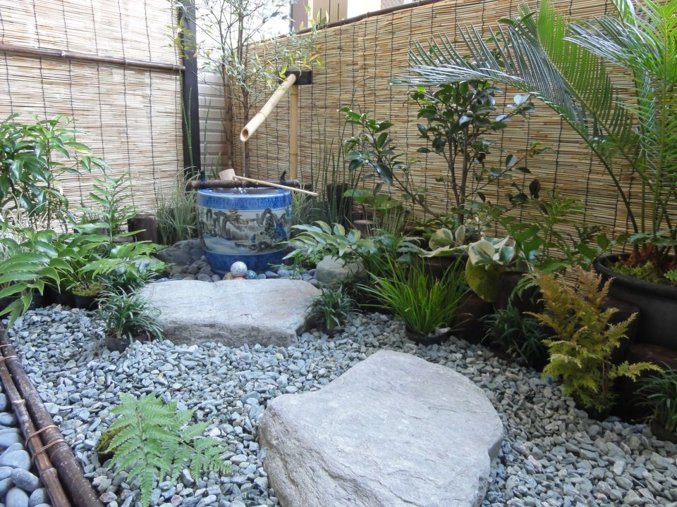 The Urban Balcony My First Japanese Garden Gardens Hint And