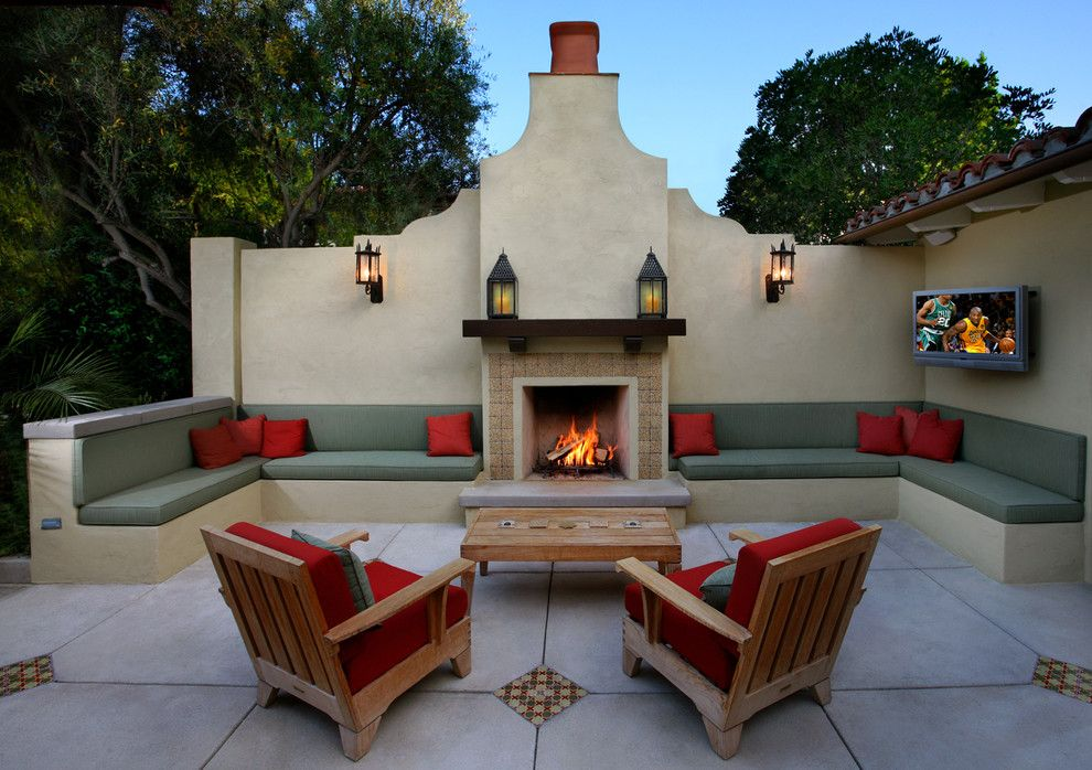 patio wall ideas patio design with fire pit must see mediterranean outdoor fireplaces pins mediterranean
