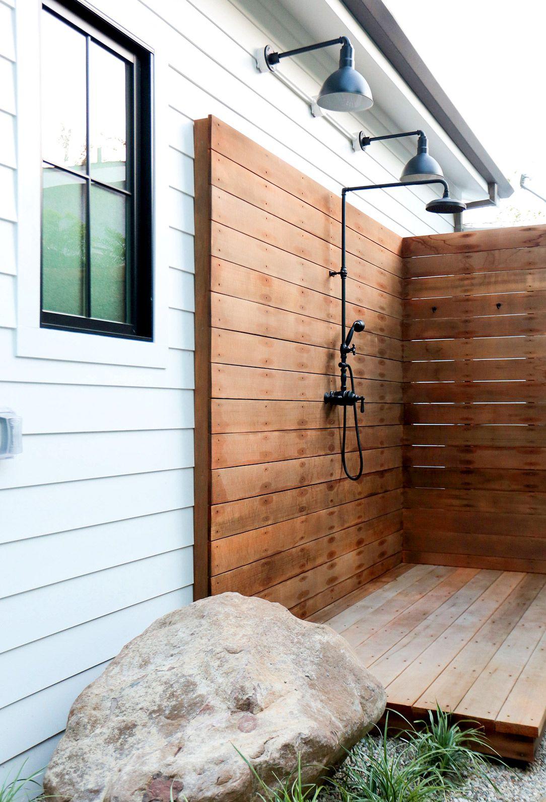 Best 25 Outdoor shower fixtures ideas on Pinterest  Outdoor showers Outdoor shower