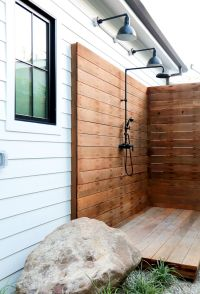 Best 25+ Outdoor shower fixtures ideas on Pinterest
