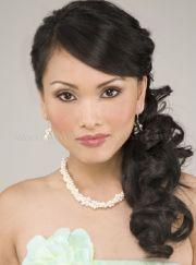 ponytail wedding hairstyles fade