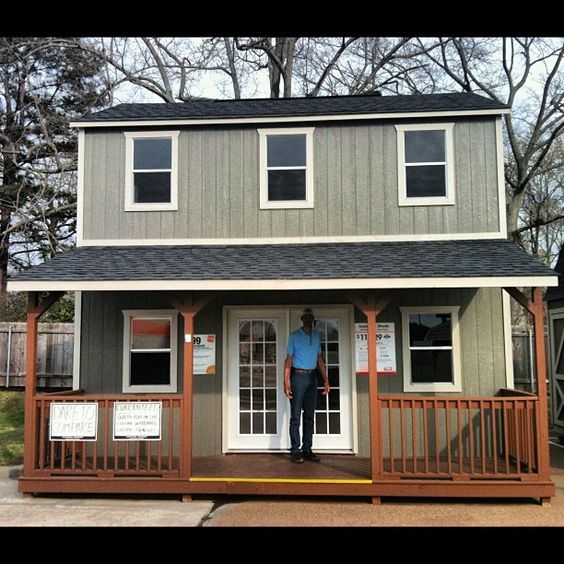 OFFICETiny HOMEGranny POD  Home Depots New Day Shed