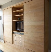 Modern Wall Unit of Maple | Products I Love | Pinterest ...