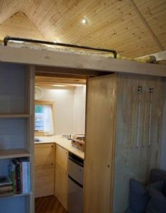 This post gives you  complete photo tour of the outside and inside jamison   tiny house that he built for his family also midwest  custom designed rh pinterest